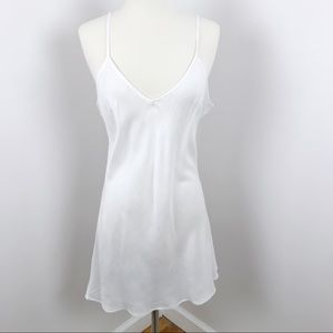 Urban Outfitters White Slip Dress Spaghetti Strap